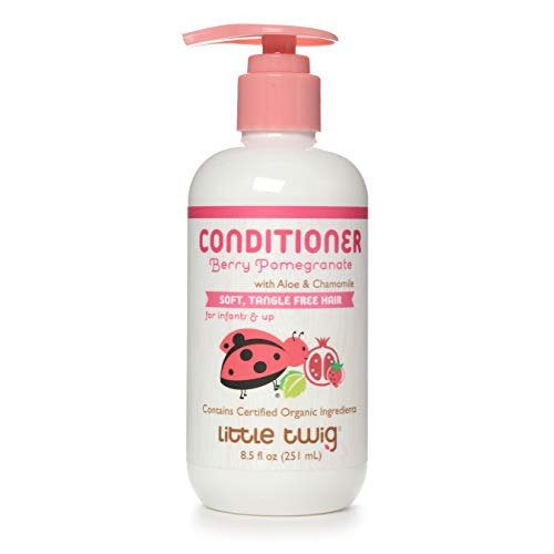 Little Twig All Natural Baby Conditioning Detangler, Berry Pomegranate, 8.5 Fluid Oz