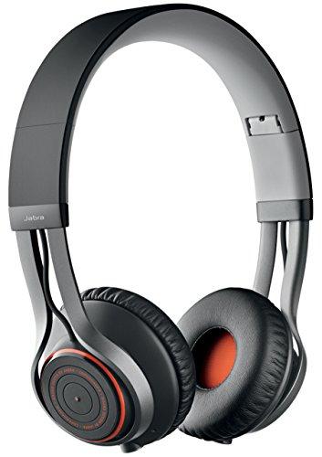 Jabra Revo - Auriculares cerrados Bluetooth inalámbrico con micrófono, negro