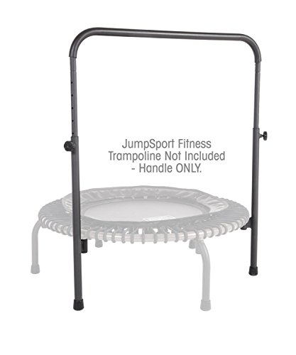 """JumpSport Handle Bar Accessory For 44"""" Arched Leg Fitness Trampolines , Fits Only 44"""" Diameter JumpSport Rebounder , Trampoline Not Included (HAN-S-20666-00)"""