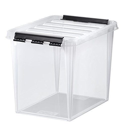 5 x HAMMARPLAST SmartStore Classic 11 Box - 14 Liter - 340 x 250 x 270 mm - transparent