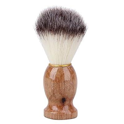 Everpert Badger Hair Men's Shaving Brush Barber Salon Men Facial Beard Cleaning Shaving-Foam Razor Brush