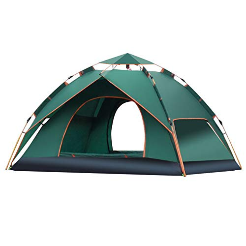 Guanhao Pop-up Tent (accommodating 2-3 People), Automatic Instant Portable Dome Tent Waterproof And UV-proof Camping Tent With Carrying Bag