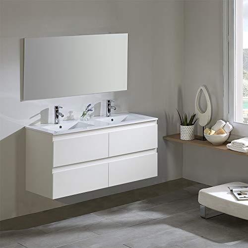 Modulintel Conjunto de baño, Melamina, 120 cm