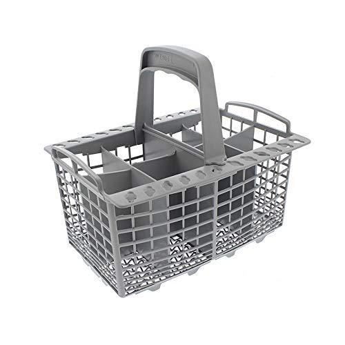Panier à couverts universel pour lave-vaisselle Indesit, Hotpoint, Creda, Bosch, gris