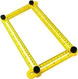AERZETIX - Pantógrafo Plástico - Ampliar/Reducir/Reproducción a Imagen - Número de valores medidos 2 - Accesorio para mosaico/arquitecto/artista - Copiadora de Ángulo plegable/portátil - C45784