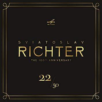 Святослав Рихтер 100, Том 22 (Live)
