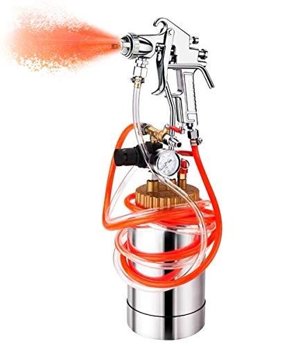 YJINGRUI 2L Tanque de Presión Pintura con Pistola Pulverizadora Manguera Regulador de Presión para Pintura Multicolor de Látex Pintura Industrial Comercial(tamaño de boquilla: 1,8 mm)