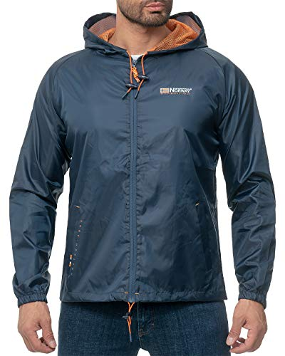 Geographical Norway Herren Regenjacke Boat Men 004 Navy M