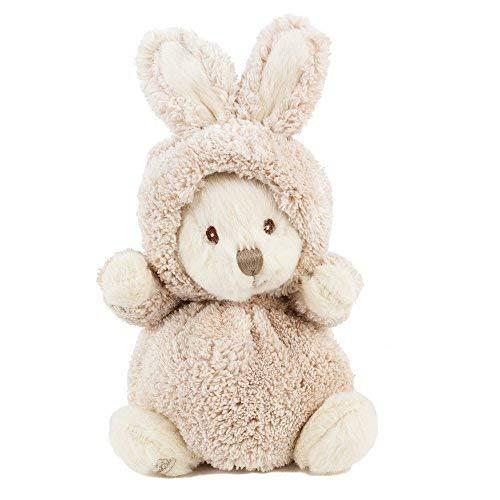 Teddys Rothenburg Bukowski Kuscheltier Hase Ziggy beige 16 cm Stoffhase Plüschhase Stofftier Plüschtier Baby Kind Spielzeug