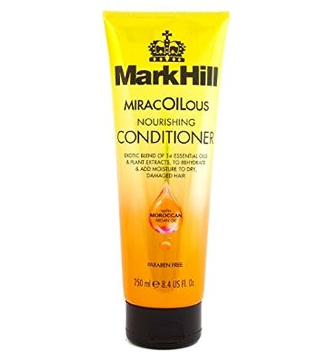 とティーム蓋ふさわしいMark Hill MiracOILicious Conditioner 250ml - マーク丘Miracoiliciousコンディショナー250Ml (Mark Hill) [並行輸入品]
