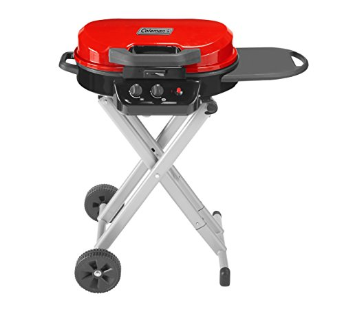 Coleman Gas Grill | Portable Propane Grill | RoadTrip 225 Standup Grill, Red