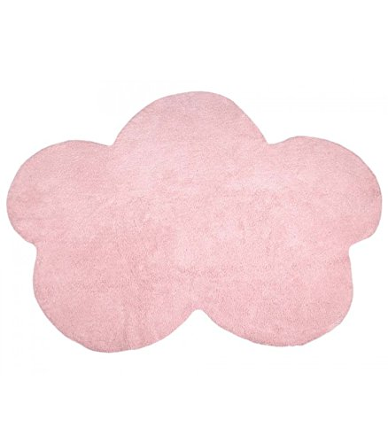 Happy Decor Kids hdk-205 Tapis lavable Cloud, Roso, 120 x 160 cm