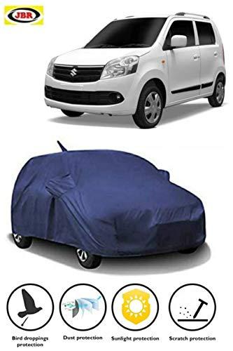 JBR Waterproof CAR Cover for Maruti Suzuki Wagon R with Side Mirror Pocket