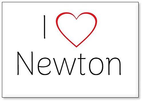 Mundus Souvenirs - Amo Newton, Imán para Nevera (diseño 3)