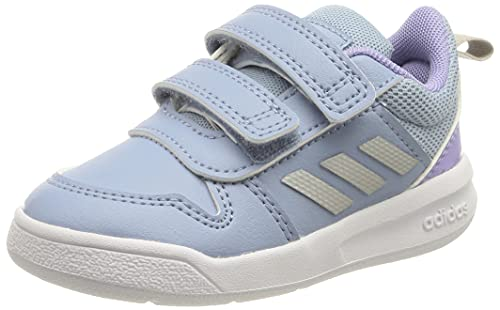 adidas Tensaur,  Road Running Shoe,  Ambient Sky/Silver Metallic/Light Purple,  27 EU