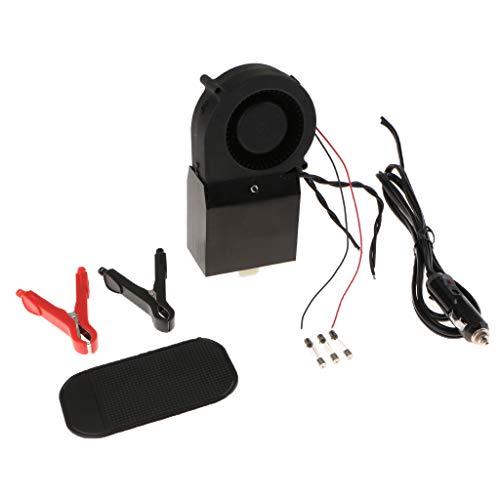 balikha Calentador Automático Ajustable de Ventana Del Desempañador Del Calentador Del Coche de 12V 300W-500W