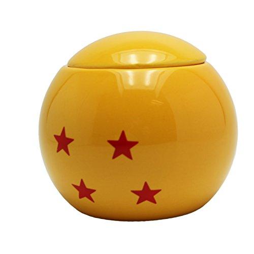 Taza amarilla edición bolla de dragón.