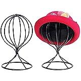 Metall Hutständer, Huthalter Perückenständer Perückenkopf Hüte Mütze Perücken Display...