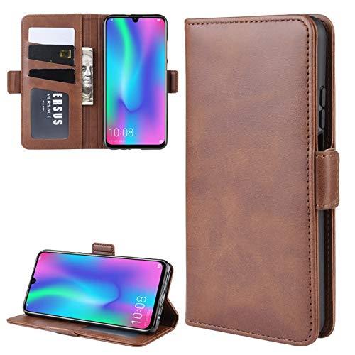 Ebogor para Huawei Honor 10 Lite/P Smart (2019) / Nova Lite 3 Caja de la Cartera, Doble Hebilla Crazy Horse Texture Business Style, Funda de Cuero con Ranuras y función de Soporte Caja del teléfono