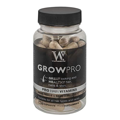 Best Hair Vitamins - GrowPro - Hair Growth Supplements with nail strengthener formula for longer stronger nails
