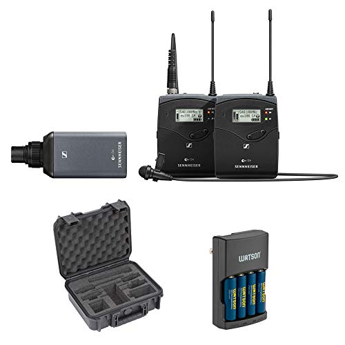 Sennheiser EW 100 ENG G4 Camera-Mount Wireless Microphone System (G: 566 to 608 MHz) with SKB...