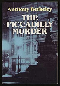 The Piccadilly Murder 0486245187 Book Cover