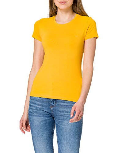 LTB Jeans Damen Setoba T-Shirt, Golden Rod 11094, S