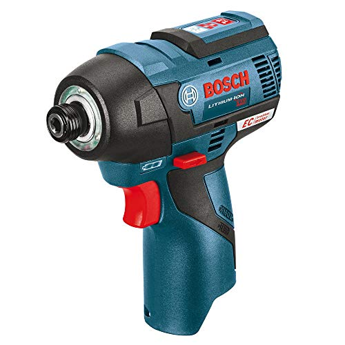 Bosch PS42N 12V Max Brushless Impact Driver (Bare Tool), Blue