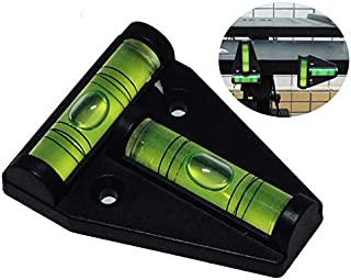 RV T Level Bubble Level, Multipurpose 2 Way Spirit Level T-type Spirit Level Bubble for RV, Machines, Furniture, Tripods, Camera Equipment Measure