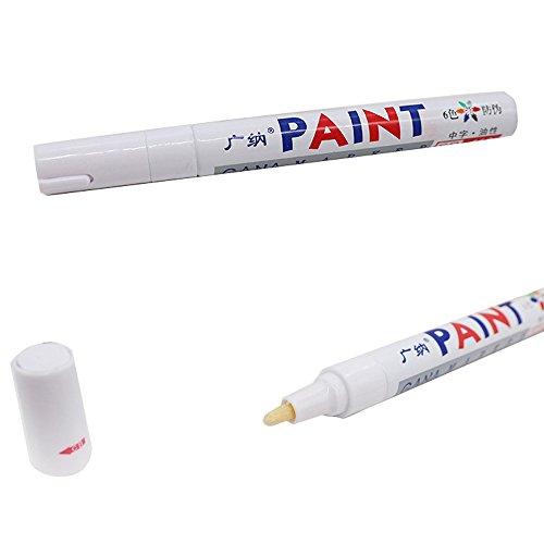 Permanent Paint Marker Pen Universal Autoreifen Reifenprofil Markierstift Chemie Stift Glas ÖLiger Stift Wasserfester Stift FüR GäStebuch Hochzeit Holz, Diy Fotoalbum,Scrapbooking
