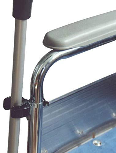 Complete Care Shop - Soporte de clip para bastón para silla de ruedas