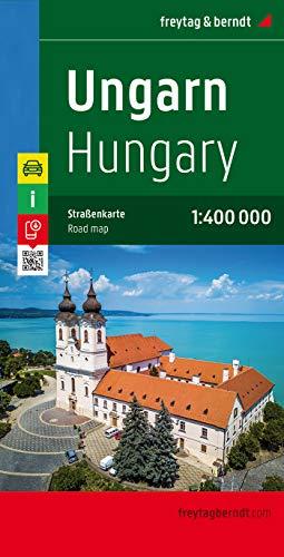 Ungarn, Autokarte 1:400.000: Citypläne, Touristische Informationen. Ortsregister mit Postleitzahlen (freytag & berndt...