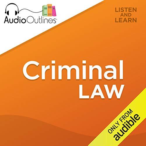 Criminal Law audiobook cover art