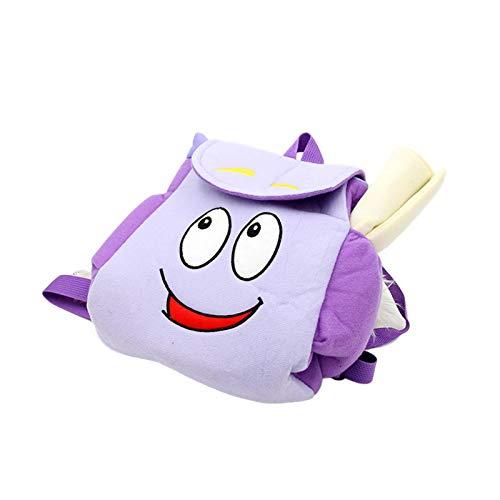Otherway Mochila escolar para niños con tarjeta, bolsa escolar transpirable con tarjeta Dora Explorer, mochila para niños Explorer, bolsa de salvamento con tarjeta de memoria