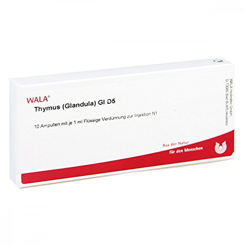 THYMUS GLANDULA GL D 5, 10X1 ml