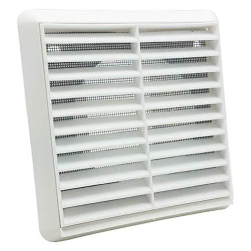 iplusmile Rejilla de ventilación de aire Cubierta de ventilación Ventilación Montado en el techo Pared incorporada Mosquitera Malla para baño de oficina en casa