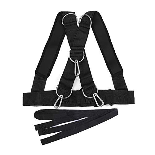 Formulaone Bandas de Resistencia al acondicionamiento físico Equipo de Correas de Trineo para automóviles Fuerza de Rally Bandas de Entrenamiento físico Cinturones prácticos
