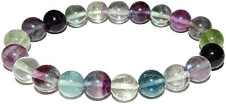 Details about  /copy of Bracelet Big Fluorite Green Extra Quality Crystal Healing Chakra Reiki Z