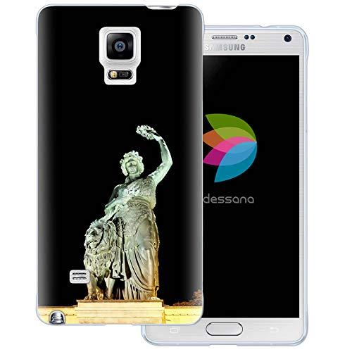 dessana Oktoberfest transparante siliconen TPU beschermhoes 0,7 mm dunne mobiele telefoon soft case cover tas voor Samsung Galaxy S Note, Samsung Galaxy Note 4, Bavaria theresieweide