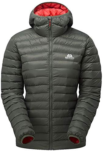 Mountain Equipment Frostline Womens Jacket, 12 UK Damen, Shadow Grey
