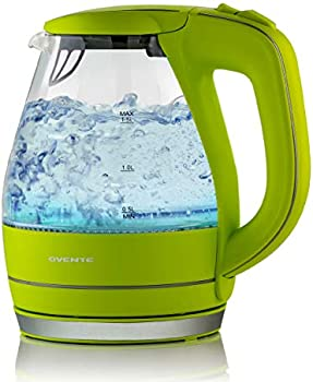 Ovente Hot Water Glass 1.5 Liter Electric Kettle