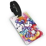 Mickey Cartoon Mouse impreso PVC etiqueta de equipaje, muy adecuada para descubrir rápidamente maletas de equipaje