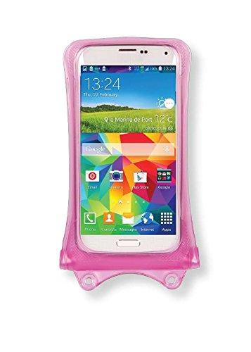 Oppo A33, A37, Joy 3, Mirror 3 Handyhülle/Handytasche - wasserdicht - Pink (Doppel-Klettverschluss, IPX8-Zertifizierung zum Schutz vor Wasser bis 10 m Tiefe)