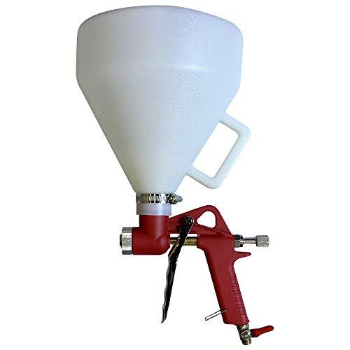 塗装 エアースプレーガン 5L エアガン 5リットル リシンガン 塗料 吹き付け ガン リシン モルタル タイル DIY 工具 エアーツール