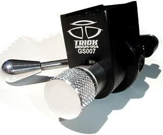 Trick Drums GS007 Multi-Step Throw Off Black Chrome