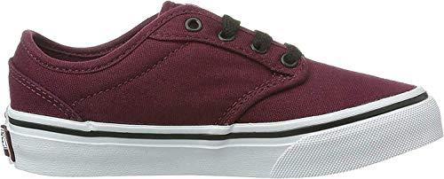 Vans Atwood Unisex-Kinder Sneakers, Rot ((Canvas) oxbloo DDU), 35 EU