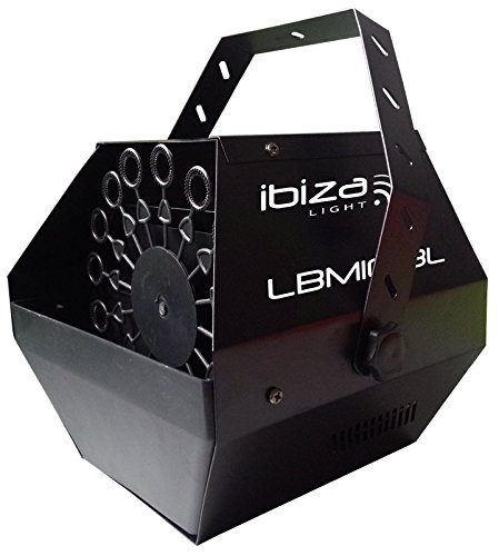 Ibiza 15-1278 Tragbare Aufladbare Seifenblasenmaschine