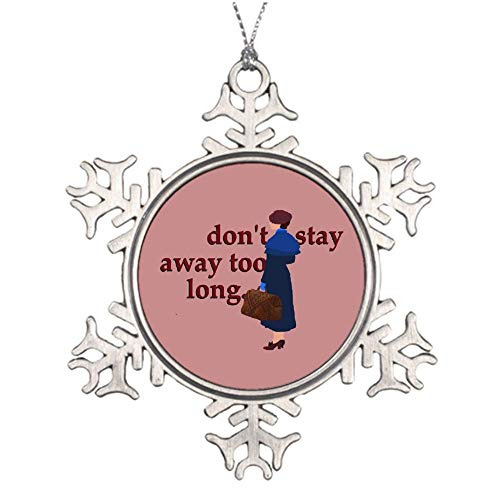 VinMea Xmas Snowflake Ornaments Mary Poppins Returns Christmas Snowflake Ornaments Ideas For Decorating Christmas Trees