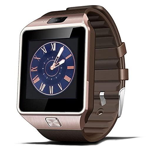 Zwbfu Fábrica Direct DZ09 Smart Watch Phone Mobile Internet Pantalla táctil Posición Bluetooth Photo Regalo al por Mayor transfronterizo(Black - Edición de Comercio Exterior)