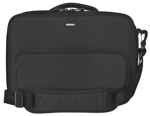 """Cocoon CLB356BY Chelsea 13"""" Laptop Case Includes Grid-IT! Accessory Organizer (Black/Yellow)"""